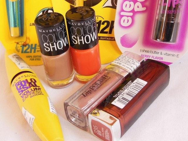 Makeup Goodies- Maybelline Colorshow Nail Paints