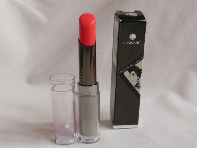 March Blog Sale 2015 - lakme Absolute Gloss Addict Lipstick Desert Rose