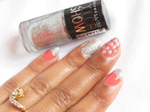 Maybelline ColorShow GlitterMania  Dazzling Diva Nail Polish Review