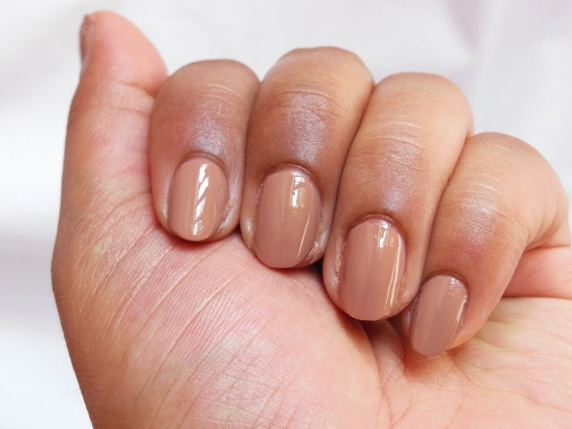 Maybelline Colorshow Nail Paint Nude Skin NOTD