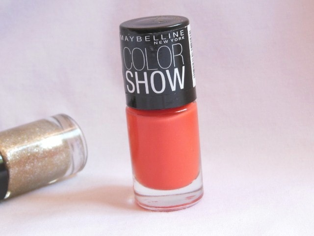 Maybelline Colorshow Nail Paint Orange Fix