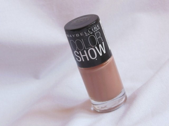 Maybelline Colorshow Nail Paint in Nude Skin