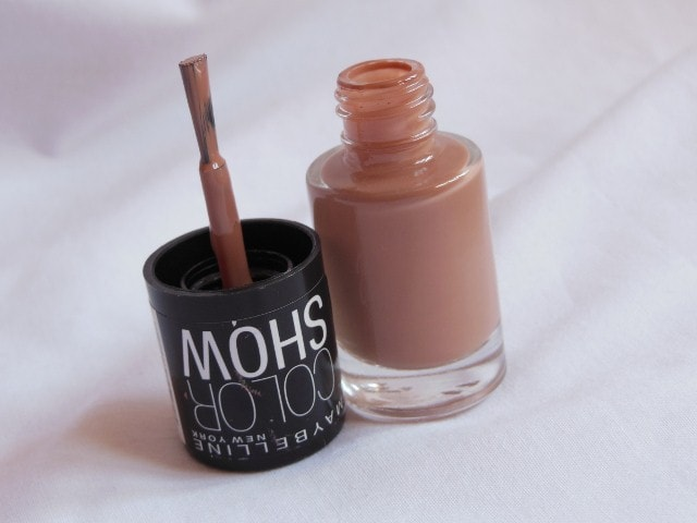 Maybelline Colorshow Nude Skin Nail Paint Packaging