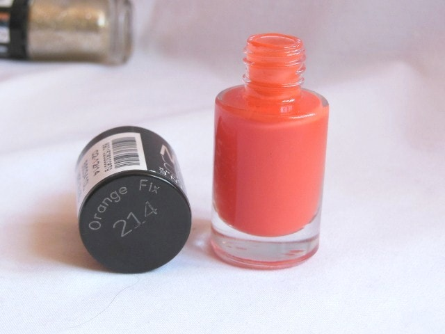 Maybelline Colorshow Orange Fix Nail Paint 214