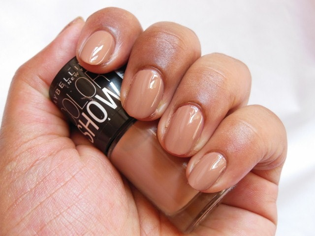 Maybelline Coloshow Nude Skin Nail Polish NOTD