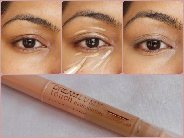Maybelline Dream Touch Lumi Highlighting Concealer Honey EOTD