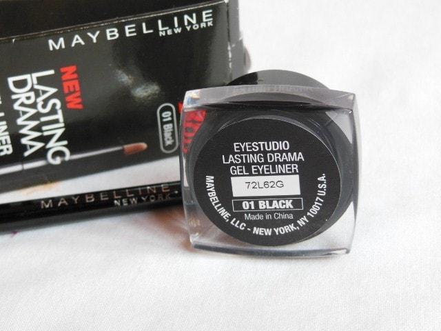 Maybelline Lasting Drama Gel  Liner 01 Black