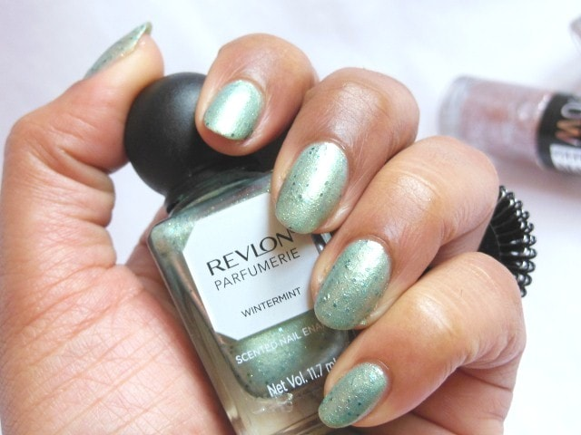 Revlon Parfumerie Nail Enamel Wintermint Swatch