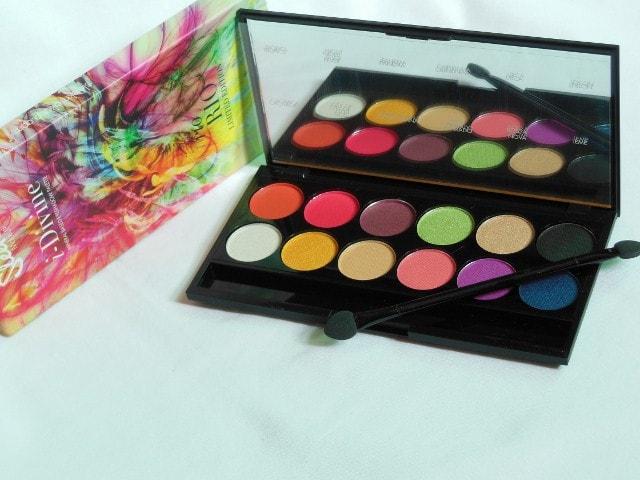 Sleek Eye Shadow Palette Rio Rio 424 Packaging