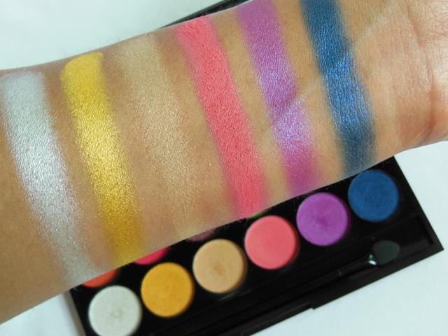 Sleek Eye Shadow Palette Rio Rio Swatches 2nd Row