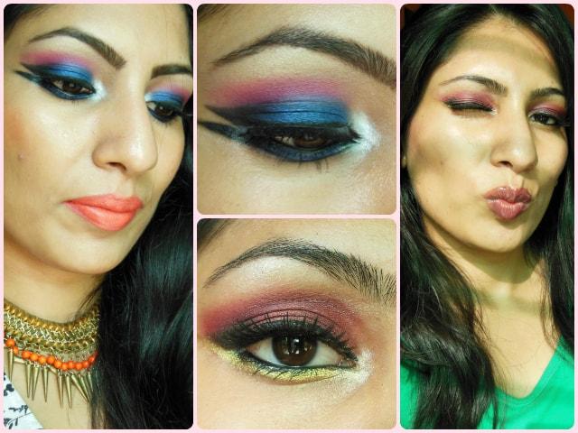 Sleek i Divine Rio Rio Eye Shadow Palette Look