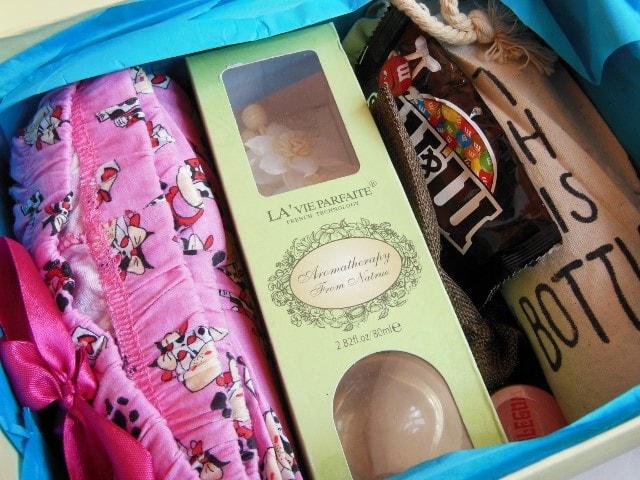 Sugarbox Spring Box Contents