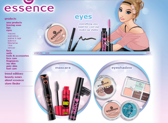 Essence Cosmetics Eye Makeup