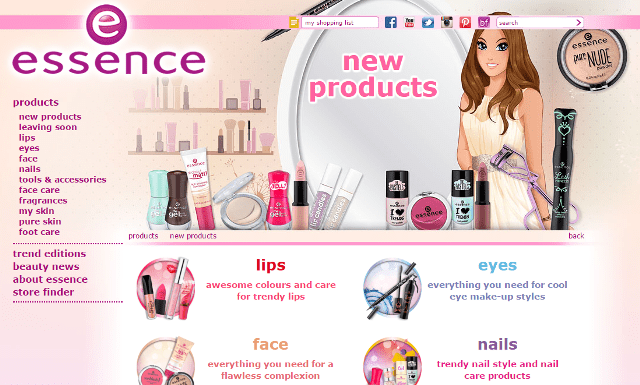 Essence Cosmetics New Products