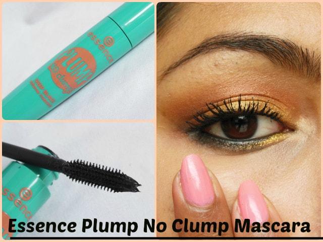 Essence Plump No Clump Mascara Deep Black Look