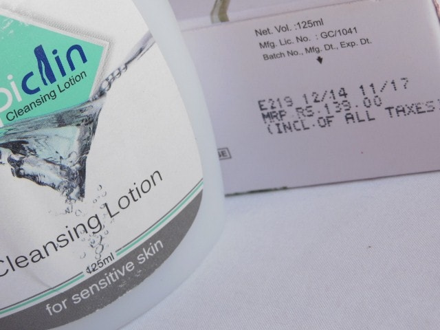 Ethicare Epiclin Cleansing Lotion Price