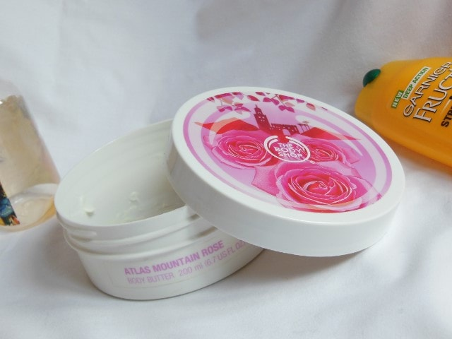 Finally Finished- The Body Shop Atlas Rose Mountain Butter