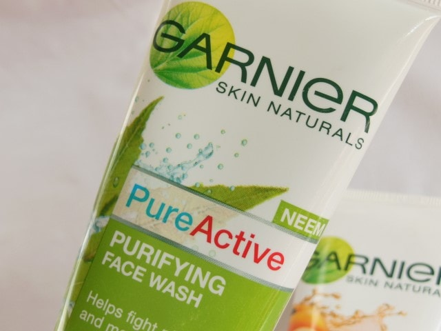 Garnier Pure Active Purifying Face Wash