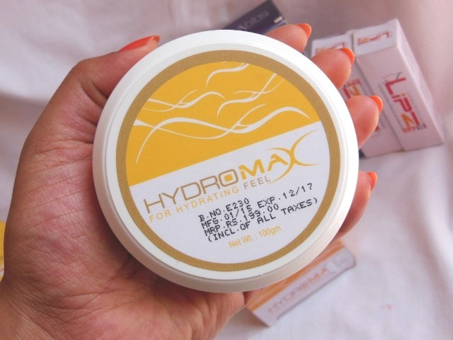 Hydromax Moisturizer Cream Packaging