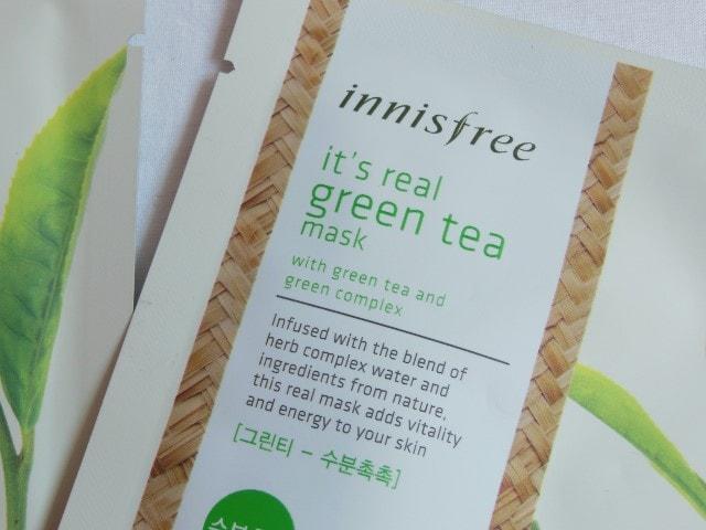 Innisfree It's Real Green Tea Mask