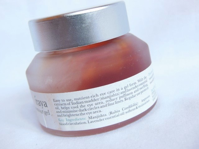 Iraya Eye Contour Gel Claims
