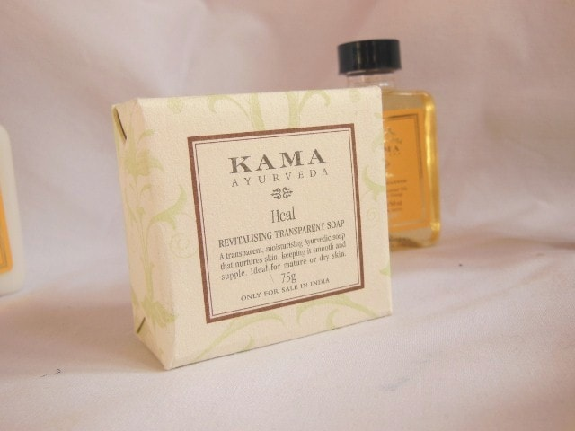 Kama Ayurveda Heal Revitalizing Transparent Soap
