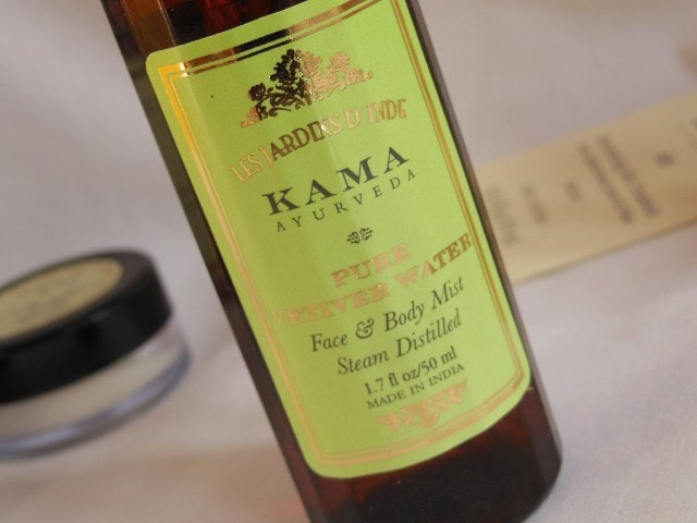 Kama Ayurveda Pure Vetiver Water