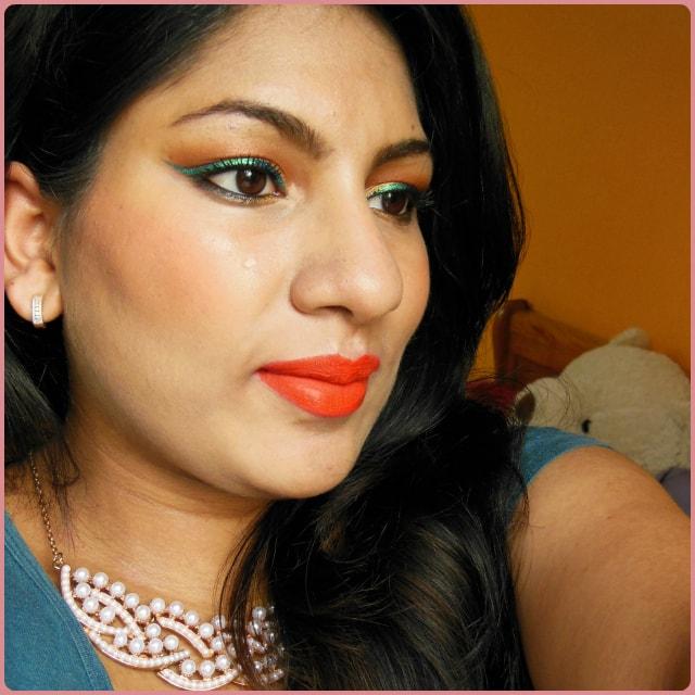 LA Lip Couture Lipstick Till Midnight Look
