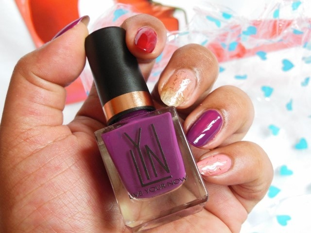 LYN Live Your Now Nail Paint - Grape Expectation