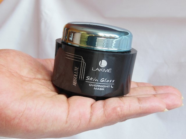 Lakme Absolute Skin Gloss Overnight Mask Packaging