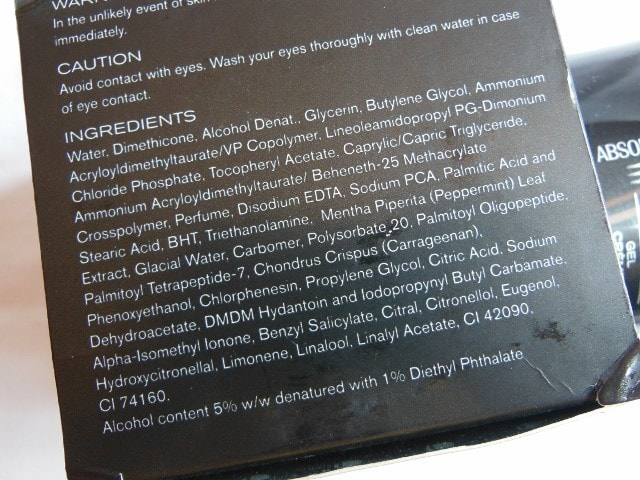 Lakme Skin Gloss Gel Creme Ingredients