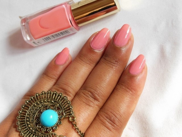 L'oreal Paris Color Riche le Vernis Ingenuous Rose NOTD1