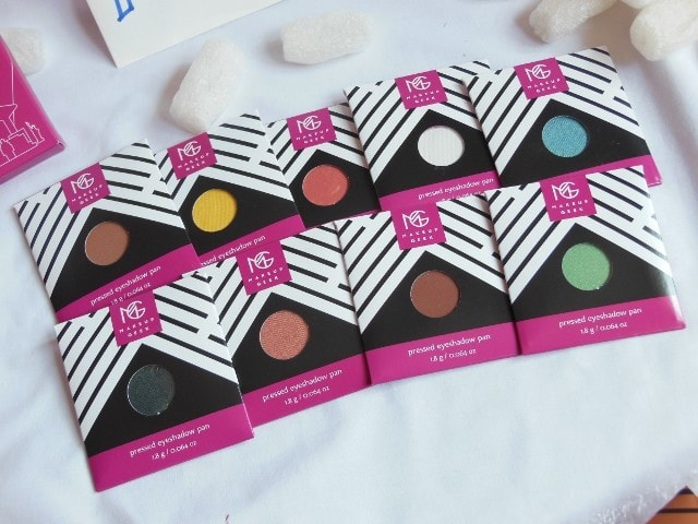 Makeup Geek Cosmetics Haul - Pressed Powder Eye Shadows