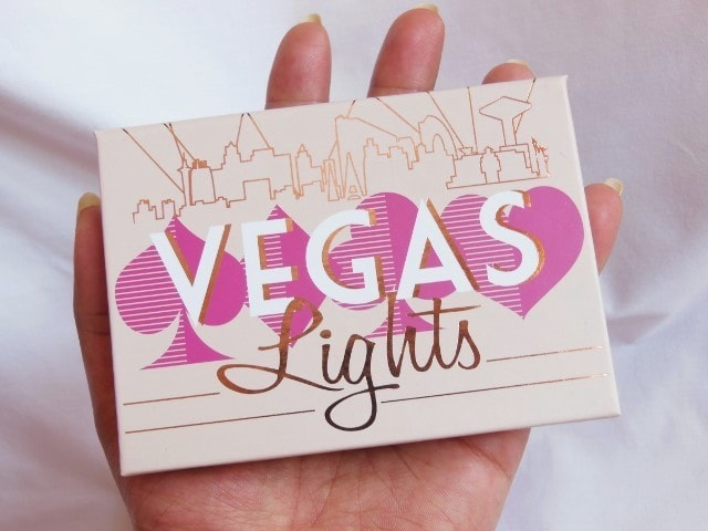 Makeup Geek Vegas Lights Eye Shadow Palette Packaging