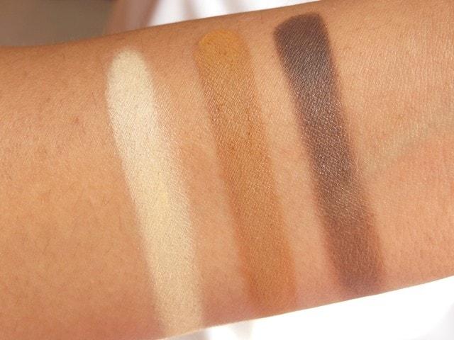 Makeup Geek Vegas Lights Palette Swatch2 - Row2