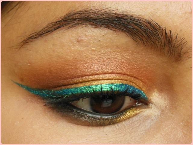 Maybelline Hyper Glossy Liquid liner Lazer Green Eyes