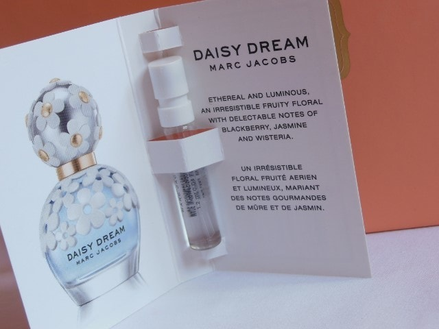 My Envy Box April 2015- Marc Jacobs Daisy Dream Perfume