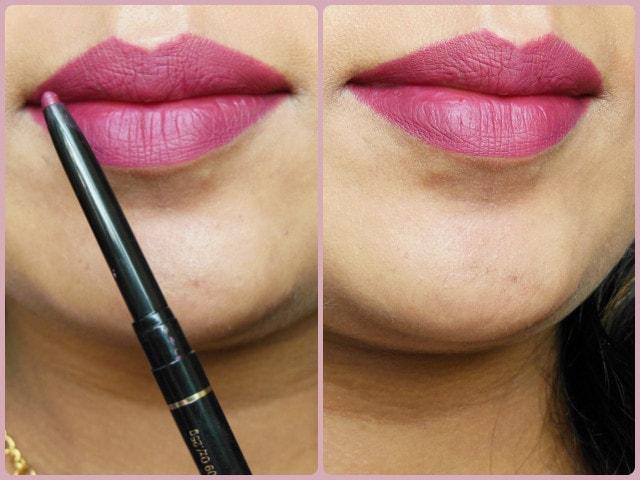 Revlon Colorstay  Scarlet Pink Lip Liner LOTD