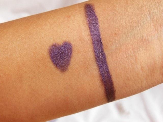 Rimmel Scandal Eyes Eye Shadow Crayon Paranoid Purple Swatch 1