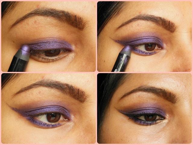 Rimmel ScandalEyes Eye Shadow Crayon Paranoid Purple Eyes Look