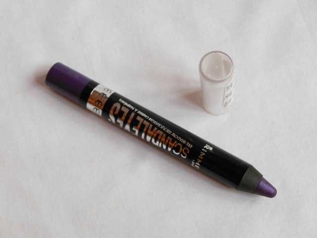 Rimmel ScandalEyes Eye Shadow Crayon Paranoid Purple Review