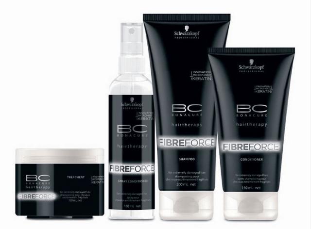 Scharwzkopf BC Fibre Force Hair Care Range