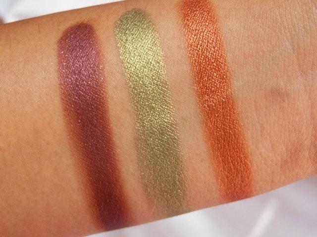 Sneak Peek- Makeup Geek Foiled Eye Shadow Collection Swatches