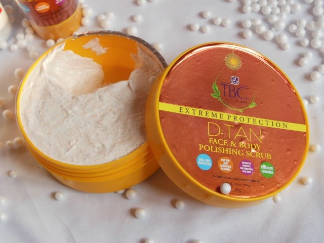 TBC By Nature D-Tan Body Polishing Scrub