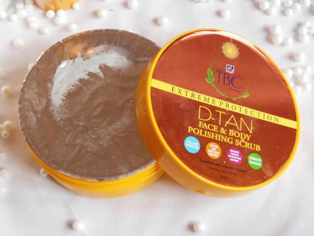 TBC By Nature D-Tan Face and Body Polishing Scrub Tub