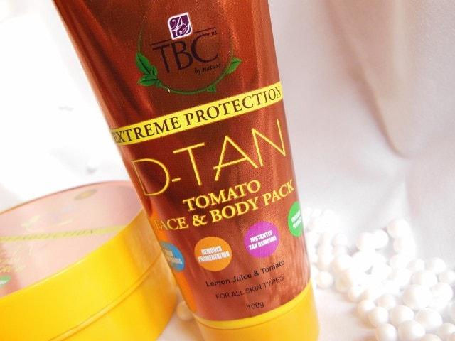TBC By Nature D-Tan Tomato Face Pack
