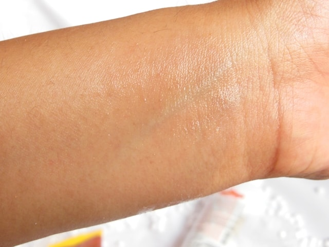 TBC by Nature Roselove Hydrating Toner Swatch