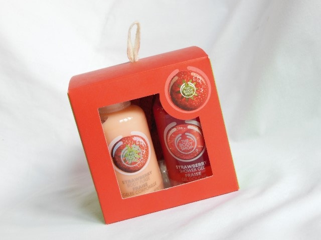 The Body Shop Gift Cube Strawberry Review