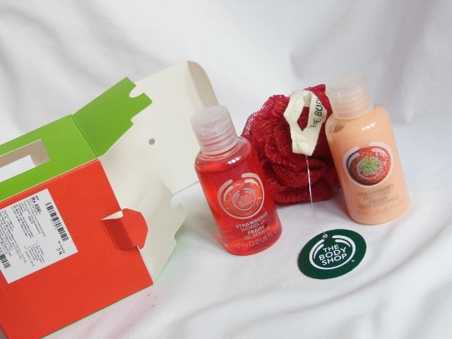 The Body Shop Gift Set Strawberry