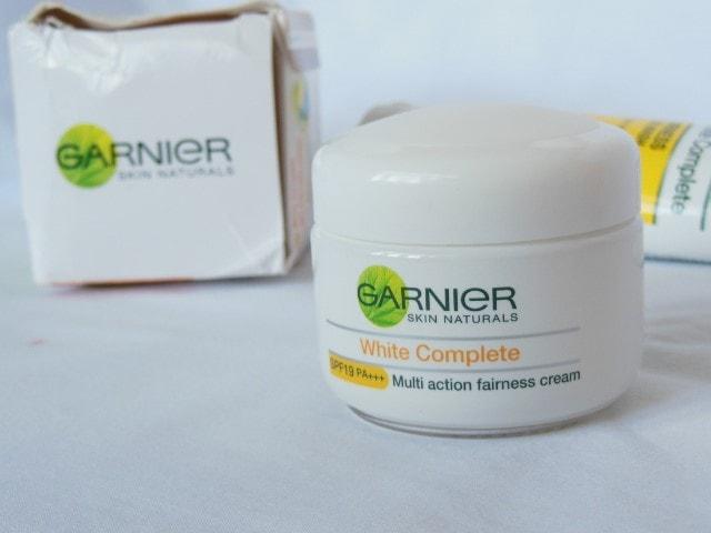 Garnier White Complete Fairness Cream packaging